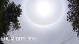 This is normal ! Summer Sundog CA, QC, MTL 07 JUNE 2015 12H Double rainbow around the sun