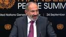 Выступление Пашиняна в ООН