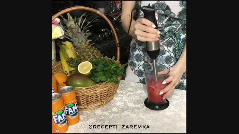 КЛУБНИЧНО АПЕЛЬСИНОВЫЙ ЛИМОНАД mp4