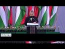 Sestřih z projevu maďarského premiéra Viktora Orbána