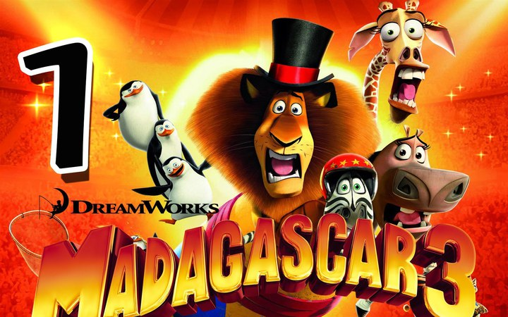 Madagascar 3: The Game Walkthrough Part 1 (PS3, X360, Wii) Mission 1