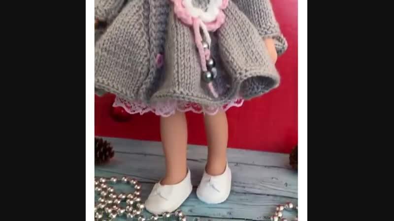 🌫🌸Когда надо быть неотразимой!🌫🌸 ............ . 💕Двойка: кружевное платьице и пальтишко под пышную юбочку с цветком, декорирован