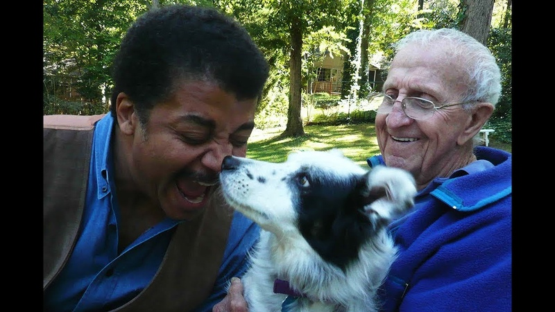 Chaser the Dog Shows Off Her Smarts to Neil deGrasse Tyson