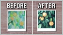 Improve Your Watercolor Paintings With This Simple Watercolor Technique【 Negative Painting 】