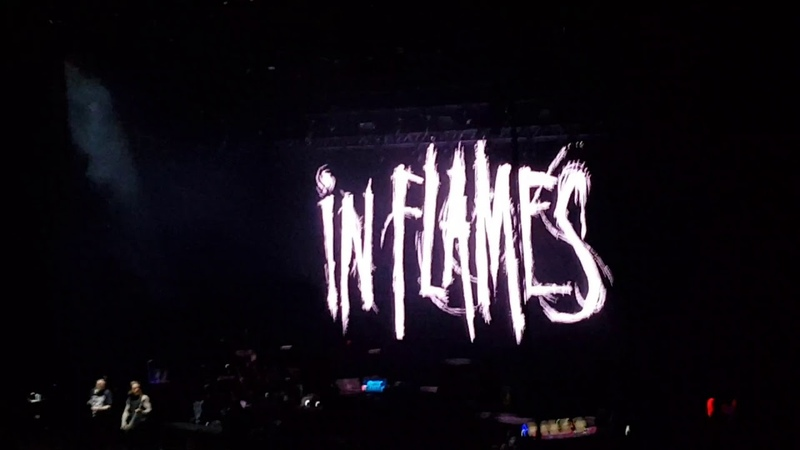 Take this life - In Flames @ Arena Ciudad de México