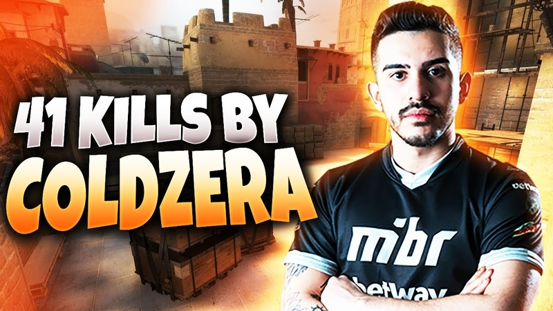 CS:GO - COLDZERA 41 frags (with teamspeak) @ FACEIT