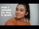 How I revised for my a levels chemistry biology and geography