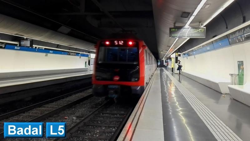 Metro de Barcelona Badal L5 TMB 5000