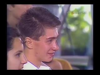 Встреча телеведущего Владимира Познера с молодежью из республик СНГ.