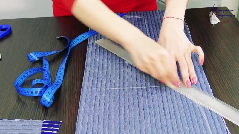 Как сшить платье футляр без выкройки свободного кроя Платье для любой фигуры