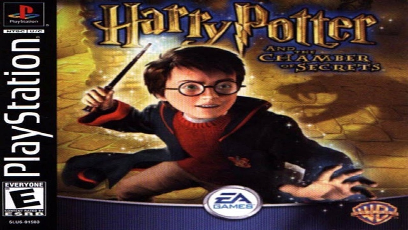 [PS1USA] Harry Potter and the Chamber of Secrets - 01. В гостях у Рона