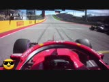 Onboard with Kimi Raikkonen in his last Ferrari win.