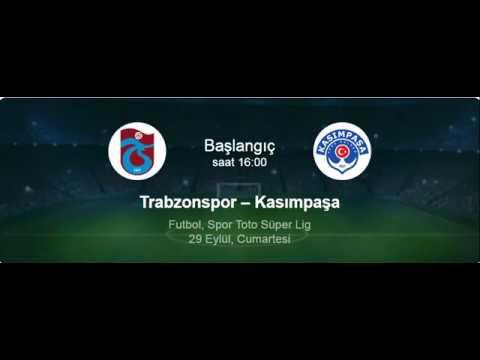 Trabzonspor Kasımpaşaspor Maçını HD İzle