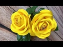 ABC TV How To Make Rose Paper Flower DIY Template With One Cut Craft Tutorial