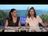 Vanessa Hudgens and Nina Dobrev on how their dogs help them flirt (Dog Days Movi