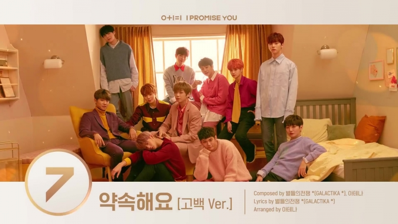 Wanna One ′01=1 (I PROMISE YOU)′ Album Preview