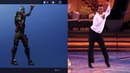 Fortnite Fresh Dance Reference Side By Side