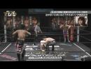 Danshoku Dino Ken Ohka vs Mike Bailey Tanomusaku Toba DDT Live Maji Manji 8