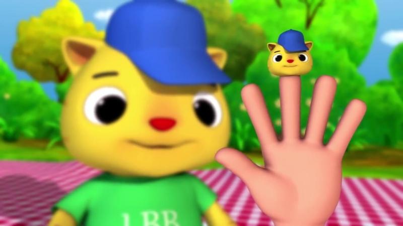 Finger Family - Cat Family Nursery Rhymes by LittleBabyBum!