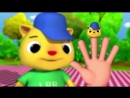 Finger Family - Cat Family Nursery Rhymes by LittleBabyBum!