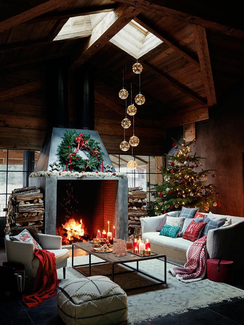 Чудесный праздничный коттедж от Zara Home