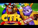 [MOD] Spyro The Dragon in Mario Kart Wii (SPECIAL) - CTR Project - Hacksponge Channel