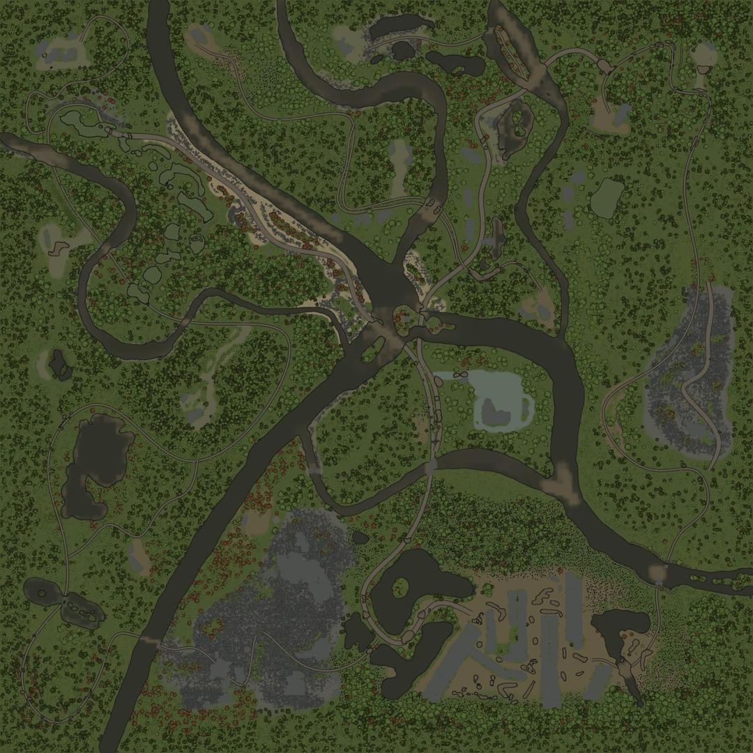 """Карта """"Слияние рек (Merging Rivers)"""""""