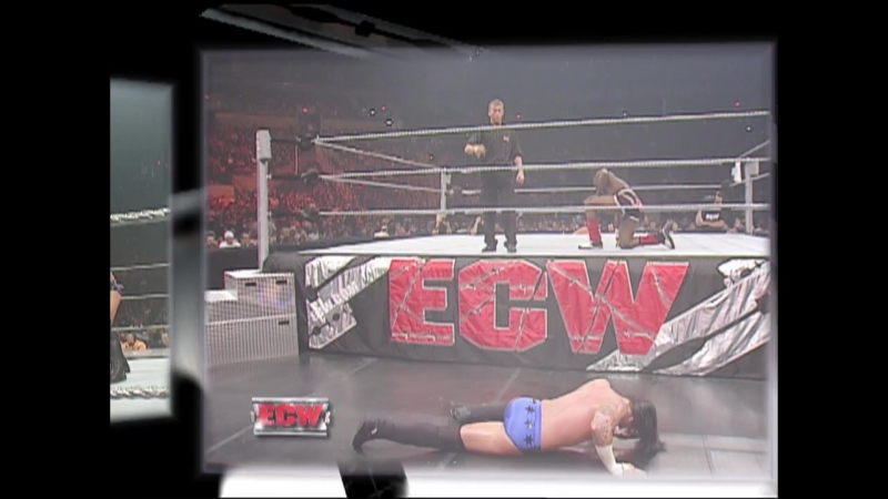 CM Punk Vs Elijah Burke - 2 Out Of 3 Falls Match - No. 1 Contenders Match For ECW Championship - ECW 26.06.2007