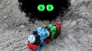 Thomas and Friends saw the monster in the cave THOMAS PERCY JAMES be careful