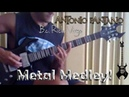 BC Rich Virgo Celtic Guitar Power Heavy Metal Medley