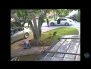 Surveillance video of shooting of Miami-Dade police officer, gr