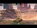 (Replay) WoT Blitz [5.3.0v] | Превосходство | M4A3E2 Sherman Jumbo | Золотая долина | 2