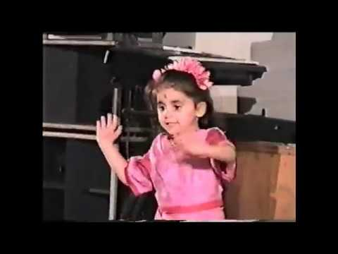 Rima Shamo in childhood ))   Indian Dance