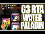 SUMMONERS WAR Water Paladin in G3 RTA!