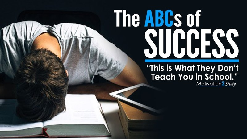 The ABCs of SUCCESS - Amazing Motivational Video for Students, Studying Success in Life