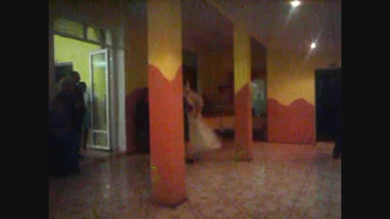 Весілля Ірини та Роми. Танець з дружкою.