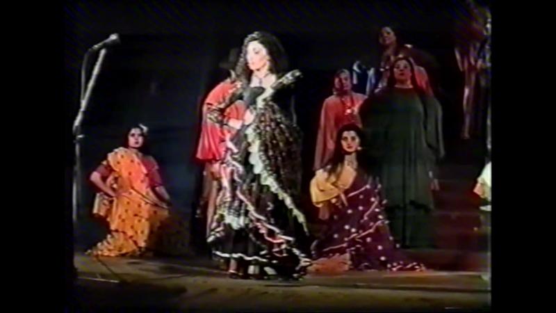 Испанская новелла из спектакля Мы цыгане1996 год. В роли Кармен Татьяна Чёрная
