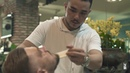 Professional hairstyle and shaving beards for handsome man in luxury vietnamese beauty hair salon
