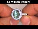 Stunning Estate Chrysoberyl Cat's Eye Diamond Cocktail Ring