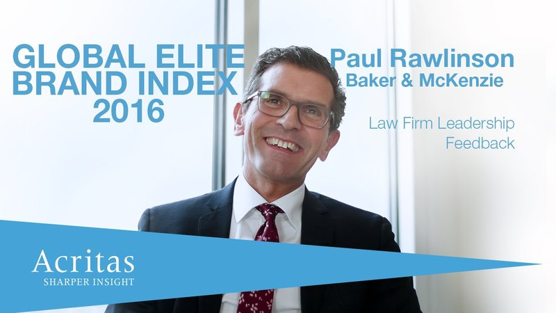 Law Firm Leadership: Paul Rawlinson, Baker McKenzie