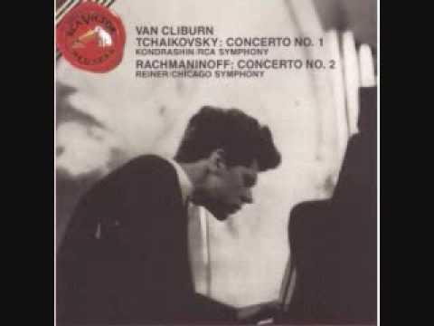Van Cliburn- Rachmaninoff Concerto No 2 in C Minor, Mvt 1 Moderato; Allegro
