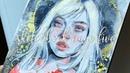 I h a v e n o i d e a w h a t i m d o i n g 「watercolor sketchbook timelapse」
