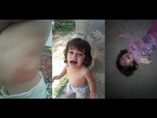 Жесть.Отец азербайджанец жестоко избивает свою маленькую дочь. Азербайджан Azerbaijan Azerbaycan БАКУ BAKU BAKI Карабах 2018 HD