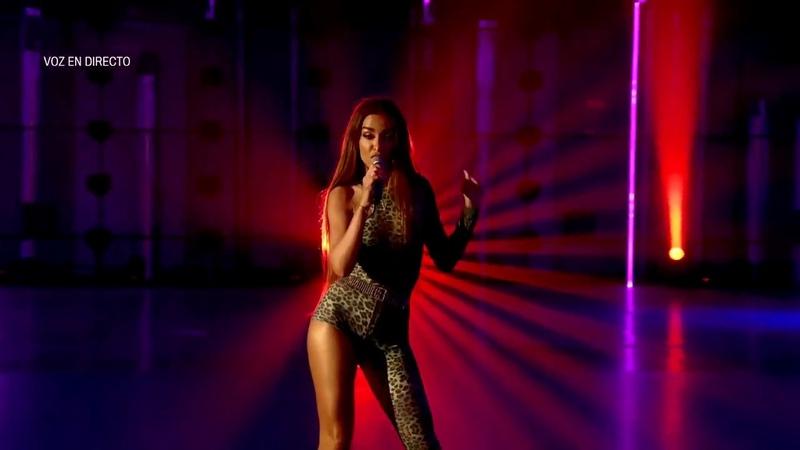 Eleni foureria - fuego - fama a bailar - eurovision 2018 - chipre - españa