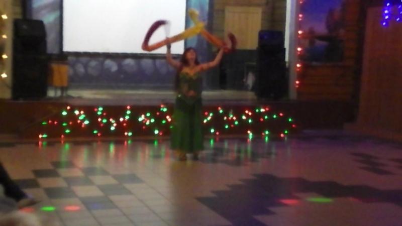 Шоу беллиданс Лария танец огня