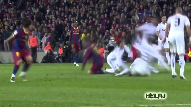 Sergio Ramos sendo humilhado