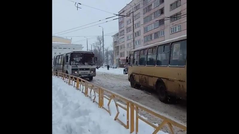 Зима в апреле в Кирове. 23.04.2018