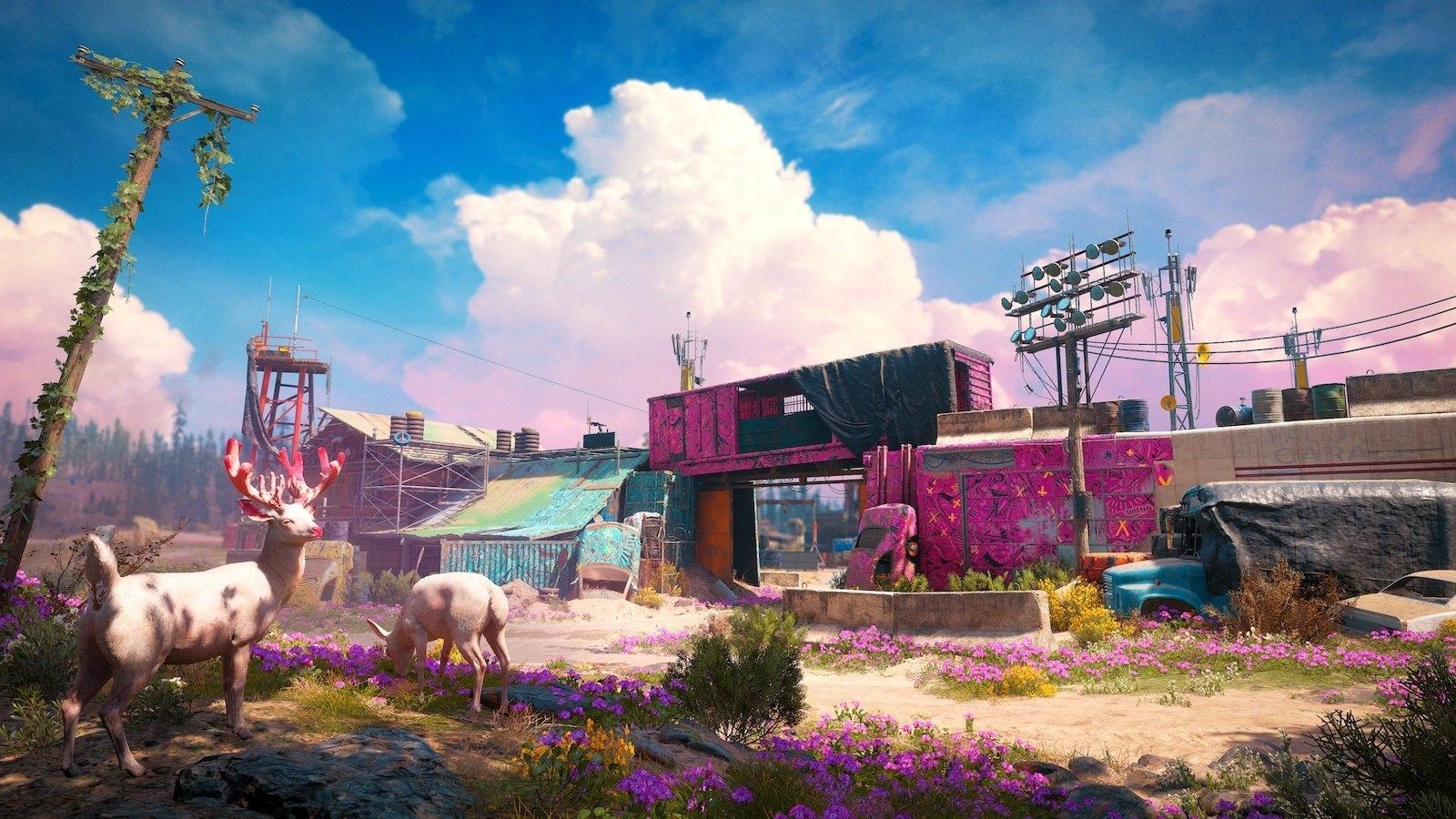 Far Cry New Dawn - расположение животных на карте и как на них охотиться