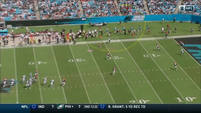 Cam Newton Hits Devin Funchess for the Big Gain TD
