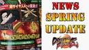 V-jump magazine shows SSJ4 Goku DBFZ Spring update details